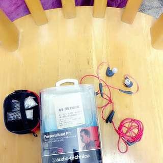 鐵三角ath-sport3 防水運動型掛耳式耳機