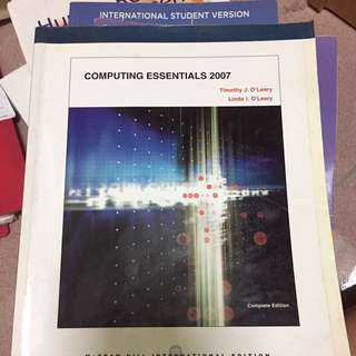 Computing Essentials 2007