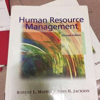 HUMAN RESOURCES MANAGEMENT hard cover