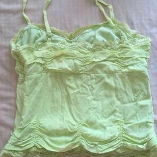 Lime 🍋 colour light shirt