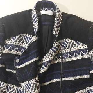 Promod Tribal Pattern Jacket
