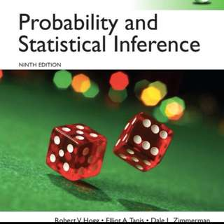 Answer for Probability and Statistical Inference 9th Edition