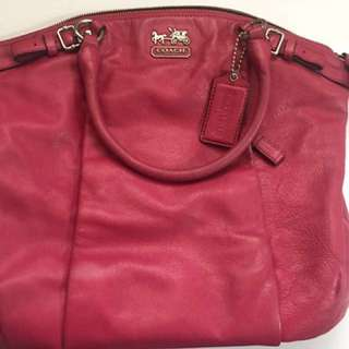 Authentic Coach Full Leather Handbag