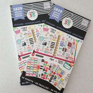 Happy Planner Value Pack Stickers
