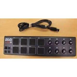 Akai LPD8 Drum Pad Midi Controller