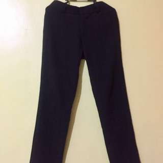 Pierre Marie  Black Slacks