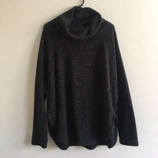 Charcoal knit Ishka jumper