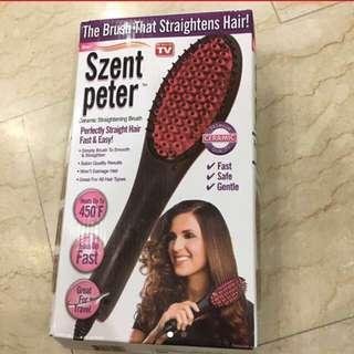 Straightens Hair Brush