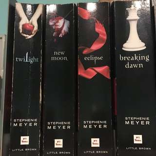 Twilight Book Set Soft Cover