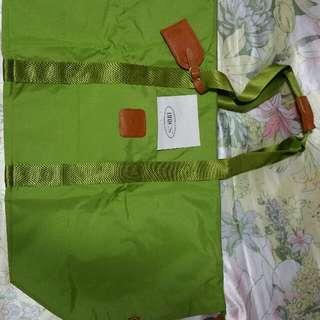 BN Authentic Bric's X Travel Folding Duffel Green
