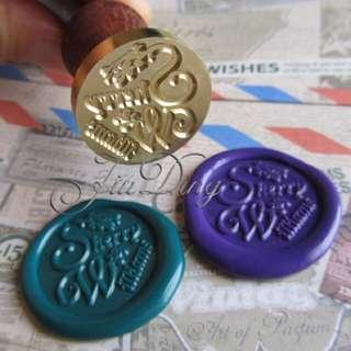 Preorder: Customised Vintage Wax Seal Stamp Sets Over 1000 Designs!