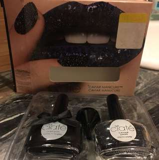 Ciate Caviar Manicure Black Pearls