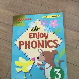Cd + Enjoy phonics Book