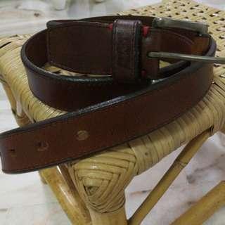 Original Levi's Leather Belt