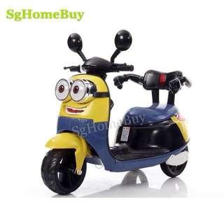 In-stock - minion electric kids bike MP3 player 3