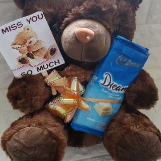 I miss you teddy bear.