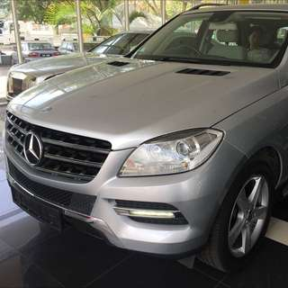 Mercedes Benz ML250 Diesel 2012 Unregistered