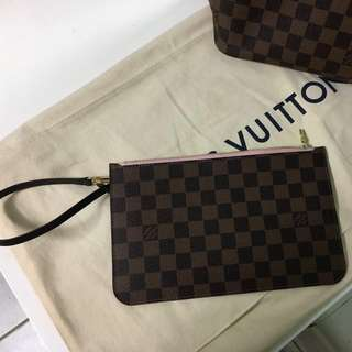Authentic Louis Vuitton Rose Ballerine Pochette