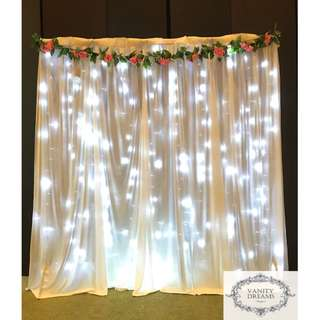 Fairylights Backdrop