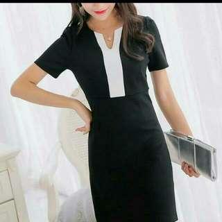 KD028 Business Attire/ Smart Casual Dress