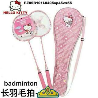 Hello kitty badminton racket
