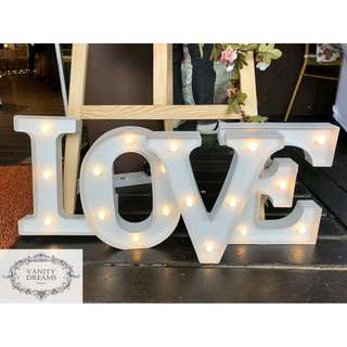Marquee Love Lights