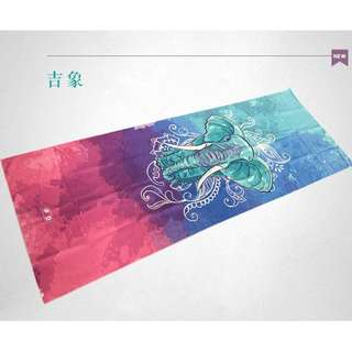(in stock)yoga mat towel - free delivery