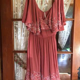 Free People Large Wrap Dress