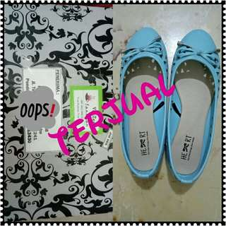 Tltsn Shoes Blue - Sold