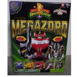 Legacy Power Ranger Megazord Dragonzord White Tiger