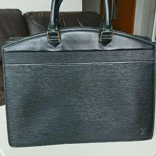 LV Louis Vuitton時尚波浪紋手提袋(絕對真品)