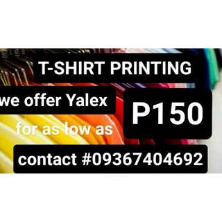 TSHIRT AND PRINTING SERVICES