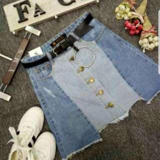 Denim skirt XL
