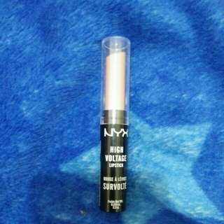 NYX high voltage lipstick nude