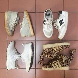 NB反光 Nike編織 adidas boots