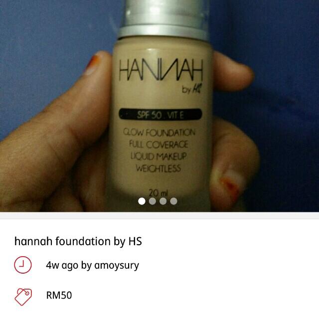 3 foundation promosi