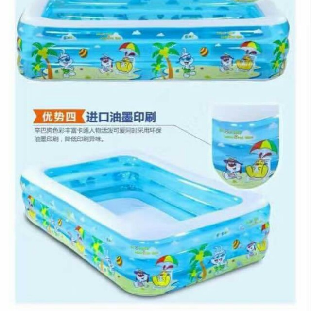 3 Ring Inflattable Pool