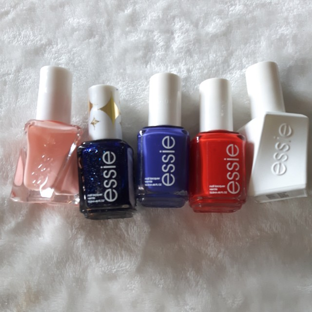 5 NEW NAIL POLISHES