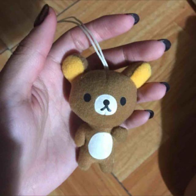 拉拉熊吊飾娃娃