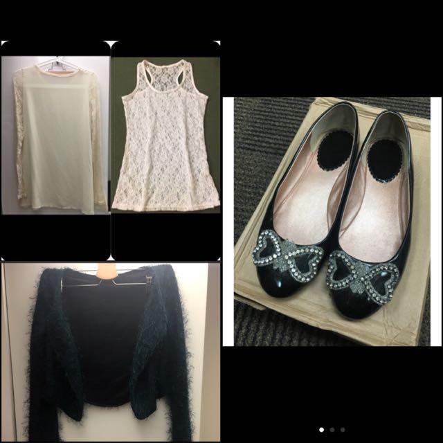 外套+鞋子