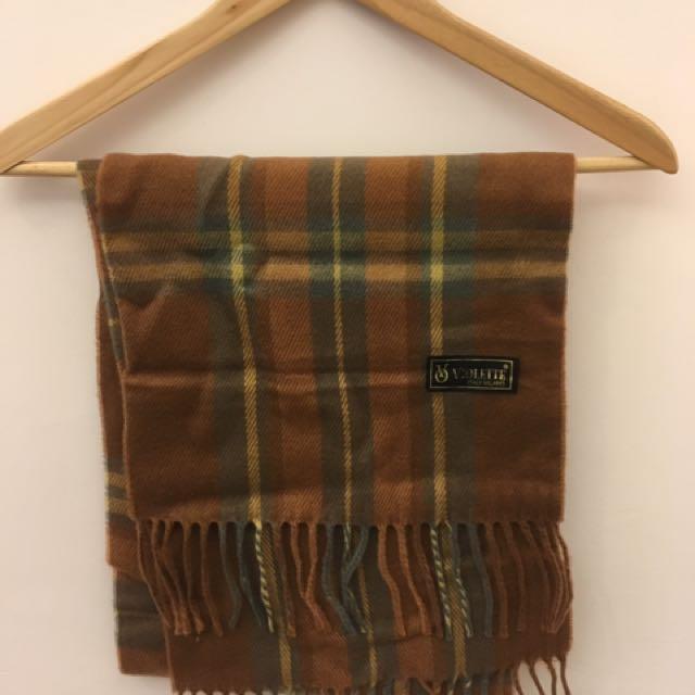 義大利米蘭高級棉料圍巾