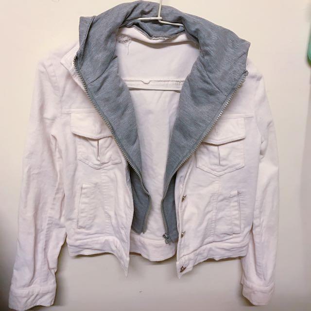 假兩件短版外套 #外套特價