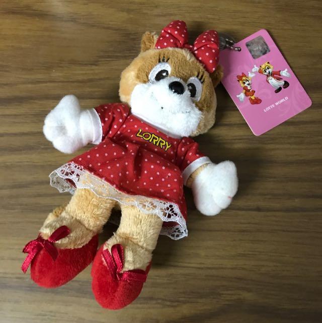 韓國樂天娃娃吊飾 Lotte World
