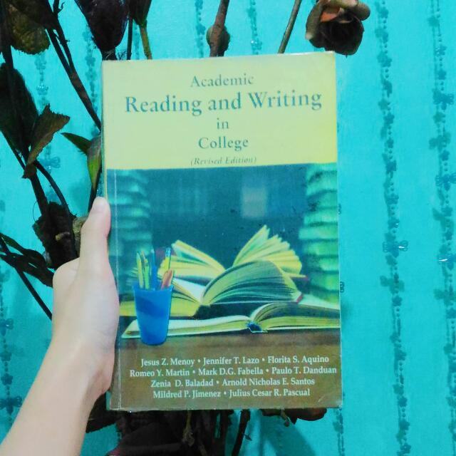 ACADEMIC READING AND WRITING IN COLLEGE (REVISED EDITION) by MENOY et al.
