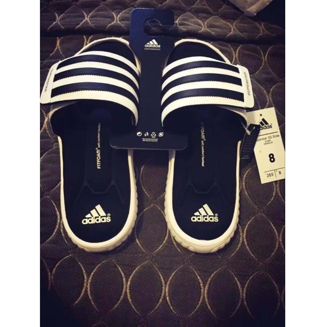 4ce70f8e2cdc Adidas Performance Superstar 3G Slide Sandal