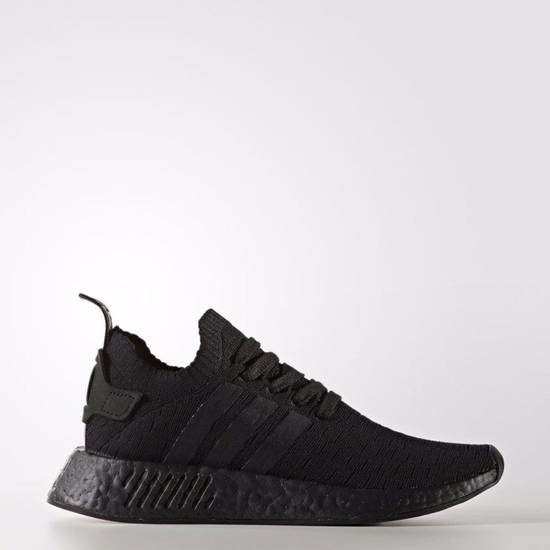 c74d72d013171 Authentic Adidas WOMEN ORIGINALS NMD R2 PRIMEKNIT Triple Black ...