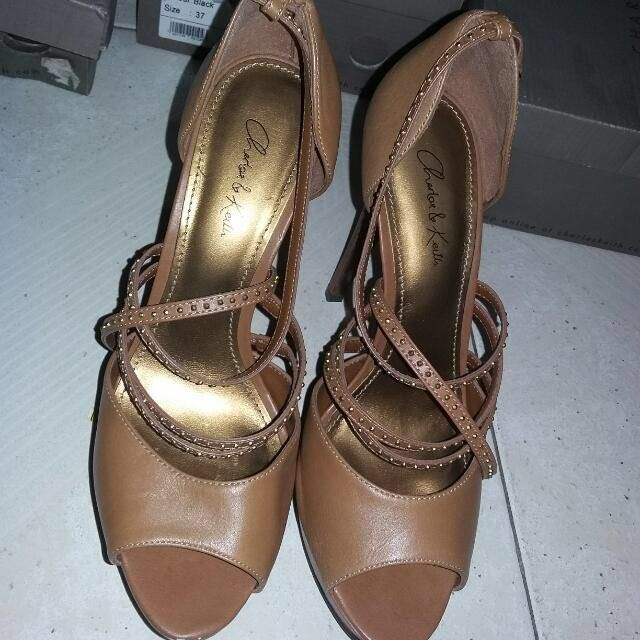 Authentic Charles & Keith shoes