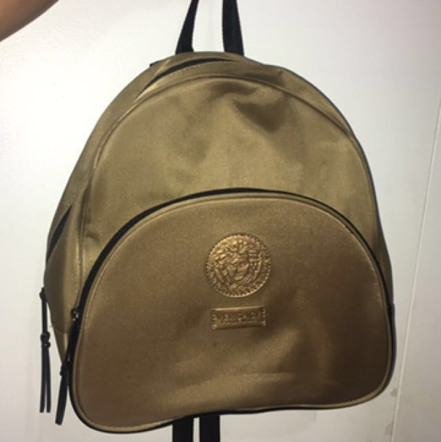 AUTHENTIC GOLD VERSACE BACKPACK
