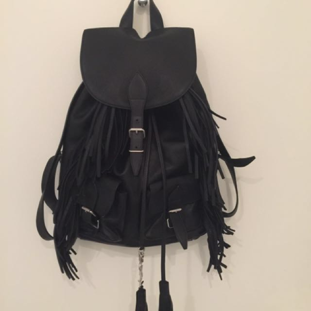 Authentic YSL Backpack