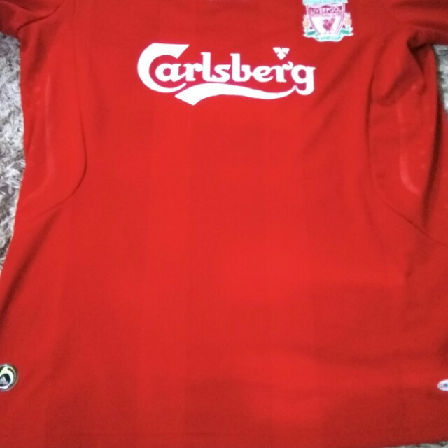 buy online 46a42 224df Baju jersey liverpool ori long sleeve